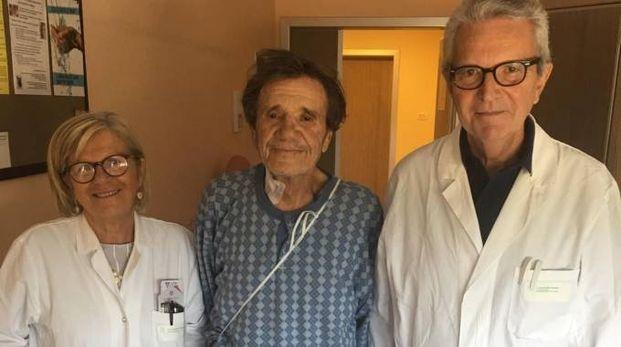 La dottoressa Patrizia Cenni, Franco Manzoni, il dottor Cesare Antenucci
