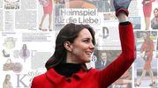 Kate Middleton in 'Spagnoli' rosso