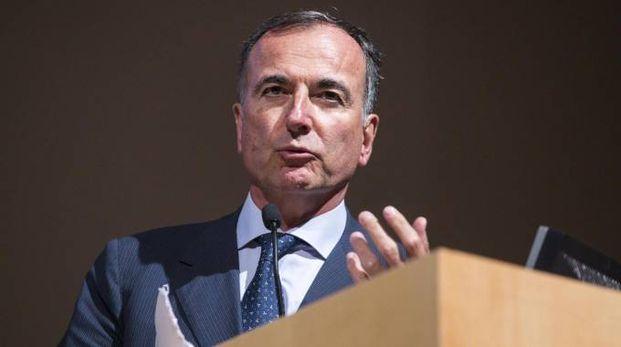 Il presidente del Collegio di garanzia del Coni, Franco Frattini (Ansa)