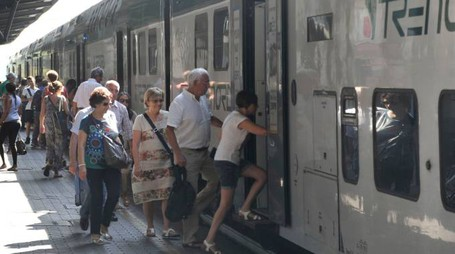 I pendolari denunciano diversi disagi