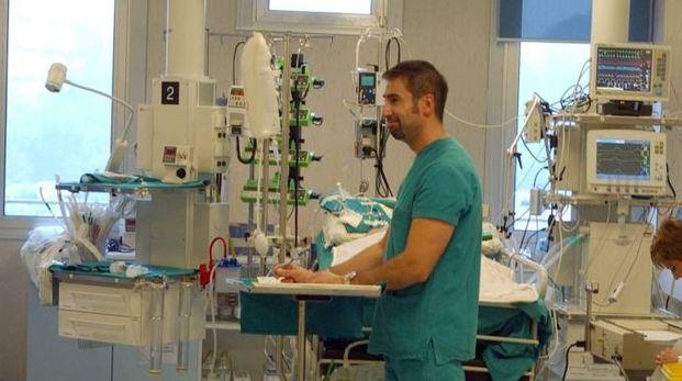La terapia intensiva Ecmo a Monza (foto Radaelli)