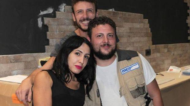 I tre soci di Marybistrò Antonietta Paesano, Nicola e Francesco Calvio