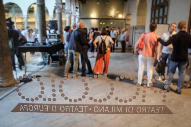 Inaugurazione del nuovo allestimento del Chiostro Nina Vinchi in via Rovello 2 (foto LaPresse)