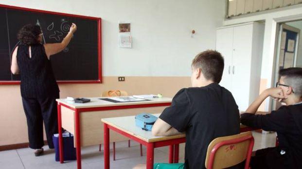 Studenti a scuola (Lapresse)