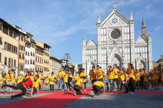 Il flashmob (New Press Photo)