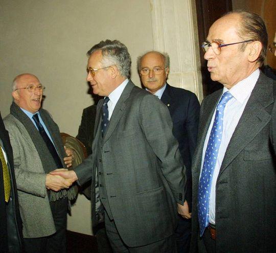 Santorelli con Tremonti (Fotoprint)