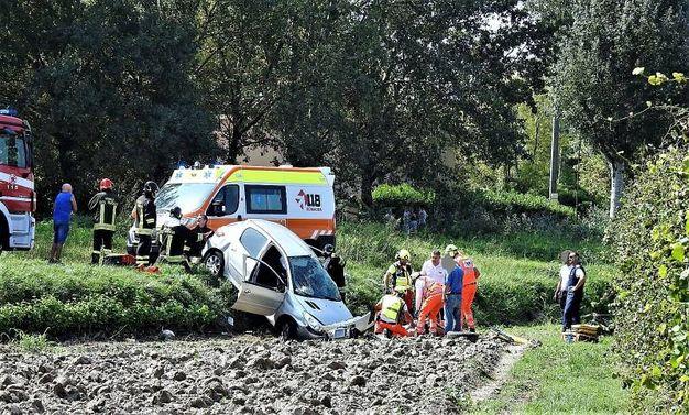 L'incidente si è verificato lungo lungo via Sinistra Canale Inferiore (Scardovi)