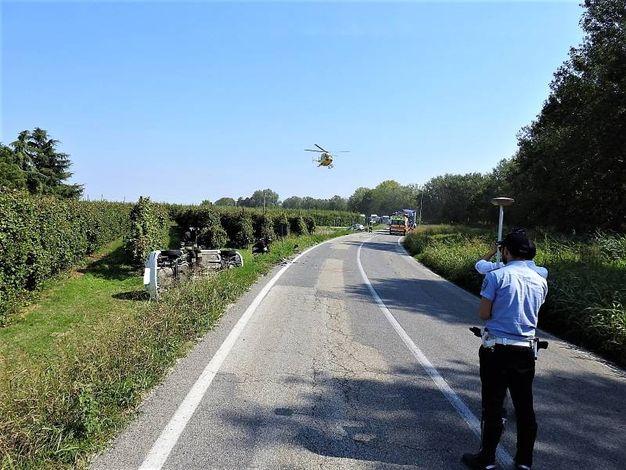 Il decollo per il Bufalini di Cesena (Scardovi)