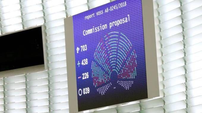 La direttiva del Copyright approvata dall'Europarlamento (Dire)