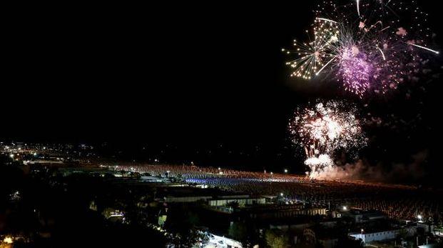 Fuochi d'artificio in Riviera