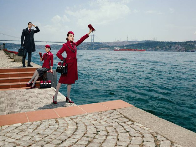 Le divise della Turkish Airlines disegnate da Ettore Bilotta