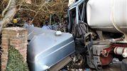 Il tragico incidente verificatosi questa sera alle porte di Bagnacavallo (Scardovi)