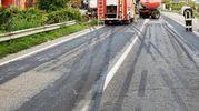 I segni sull'asfalto della frenata (Scardovi)