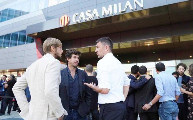 Inaugurazione Casa Milan Bistrot, Maldini (foto Lapresse)