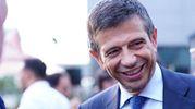 Inaugurazione Casa Milan Bistrot, Maurizio Lupi