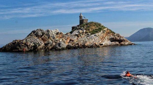 L'esercitazione all'Isola d'Elba