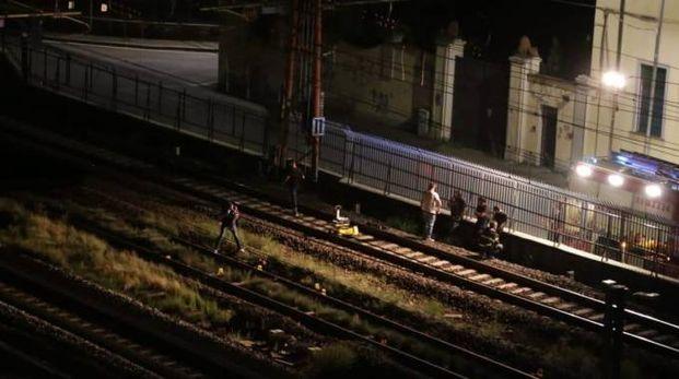 Il punto della linea ferroviaria dove è avvenuto l'incidente mortale