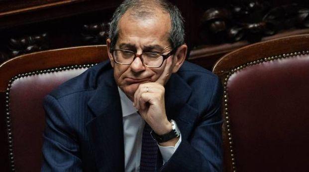 Il ministro dell'Economia Giovanni Tria (Newpress)