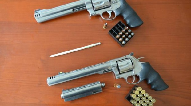 Le armi utilizzate dai due fratelli