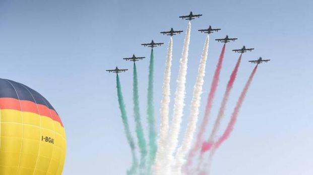 Frecce Tricolori a Ferrara (Businesspress)