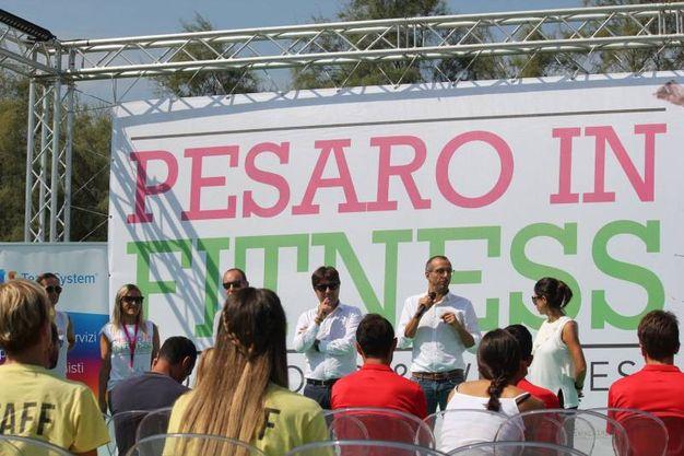 Pesaro in Fitness 2018, l'inaugurazione