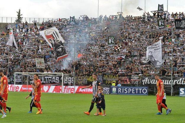 Allo stadio Del Duca si affrontano Ascoli e Lecce nella terza giornata di campionato (foto LaPresse)