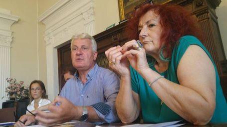 Il presidente Rinaldo Vanni e la consigliera Marzia Niccoli fanno il punto sulle scuole