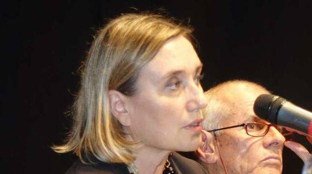Ida Aragona, della Asl durante un incontro pubblico sul tallio