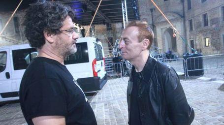 L'assessore Marasca con Mauro Ermanno Giovanardi