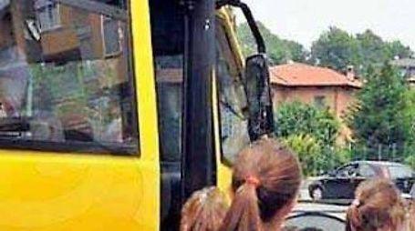 Per ragioni di sicurezza una bambina di 6 anni è stata iscritta  a Bottegone fuori stradario e così non ha diritto allo scuolabus