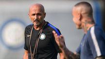 Inter, Luciano Spalletti. Sfida in Champions League con il Tottenham (foto Afp)