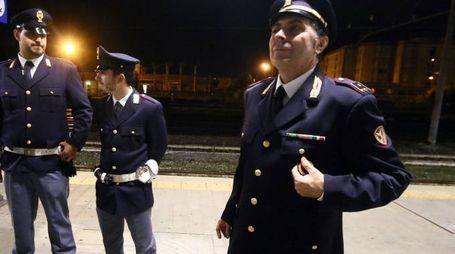 E' stata la polizia ferroviaria a svolgere le indagini (immagine di repertorio)