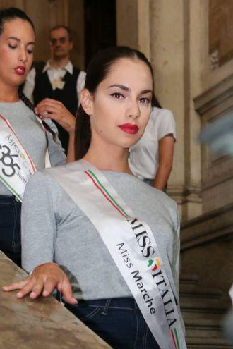 Carlotta Maggiorana è Miss Italia (Ansa)