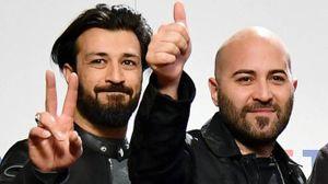 Emanuele Spedicato con Giuliano Sangiorgi (Ansa)