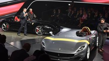 Le due Ferrari Monza