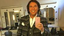 Valerio Merola in uno scatto Instagram