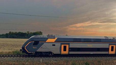 Il nuovo treno Rock (Ansa)