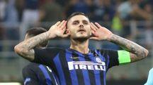Icardi ha segnato a 5 minuti dalla fine (foto NewPress)