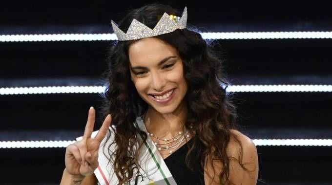 Miss Italia 2018 Carlotta Maggiorana (Ansa)