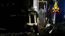 In fiamme palazzina a di San Martino Buon Albergo, ospita centro migranti  (Ansa)