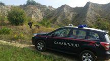 I carabinieri sul posto