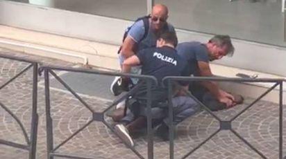 L'arresto del pusher