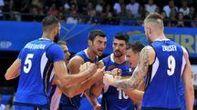 La Nazionale azzurra di volley