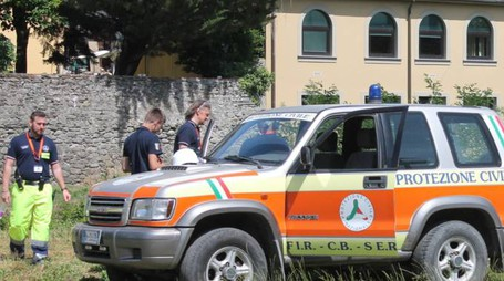 Protezione civile a Pontremoli (foto d'archivio)