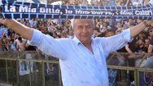 Il presidente della Spal Walter Mattioli (foto Businesspress)