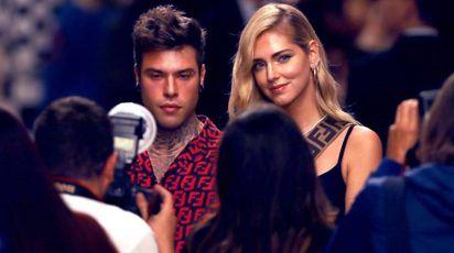 Ferragni e Fedez supergriffati alla Milano Fashion Week