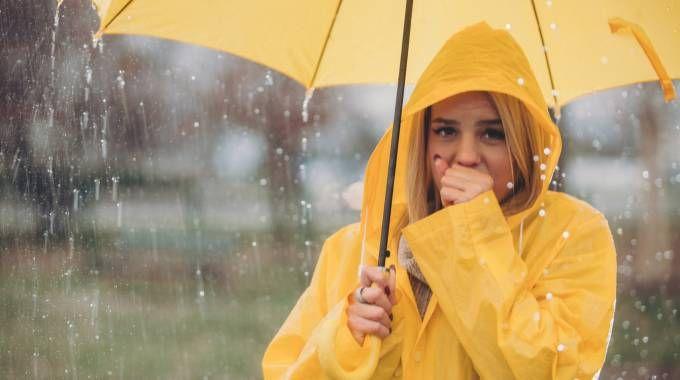 Previsioni meteo, arriva l'autunno: pioggia, ma anche freddo e neve (foto iStock)