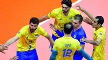 La squadra di volley del Brasile