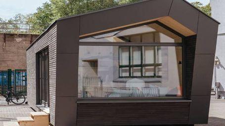 La prima casa di Cabin Spacey - Foto: Cabin Spacey / Twitter