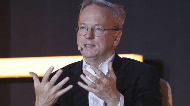 L'ex Ceo di Google, Eric Schmidt (Ansa)